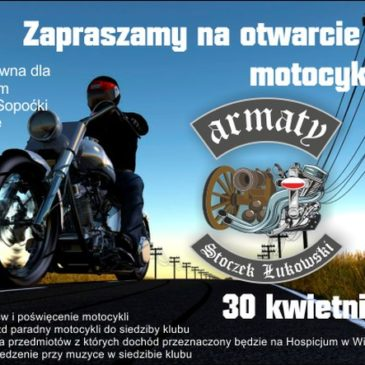 Sezon motocyklowy z Hospicjum