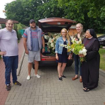 Dar kwiatów