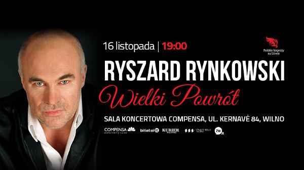 Wielki powrót Ryszarda Rynkowskiego
