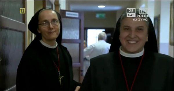 Siostra Michaela w TVP Polonia o hospicjum w Wilnie
