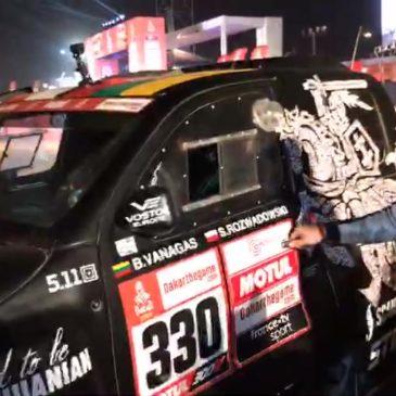 Dakaro finišo podiume