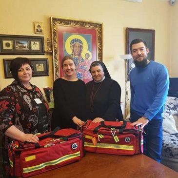 Nauji medicininės pagalbos krepšiai hospisui