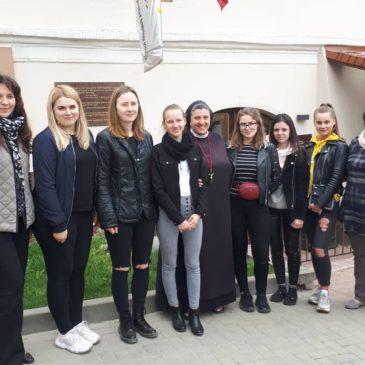 Vilniaus Kolegijos studentės susipažino su Hospiso misija…