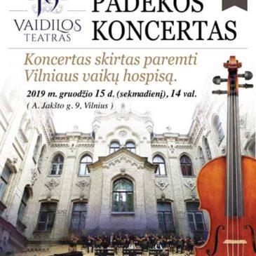 Padėkos koncertas