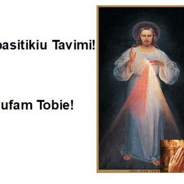 Junkimės į bendrą maldą!!!