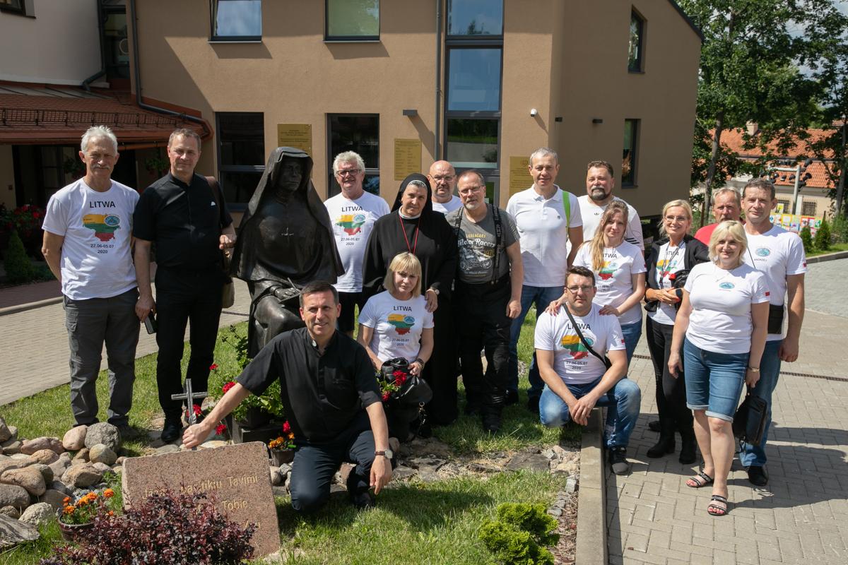 Motostar Starachowice z wizytą w naszym Hospicjum