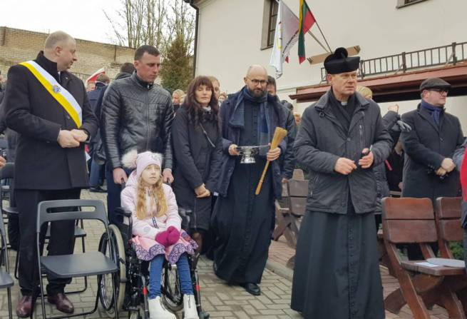 Atidarytas Vilniaus pal. kun. M. Sopockos hospiso vaikų skyrius