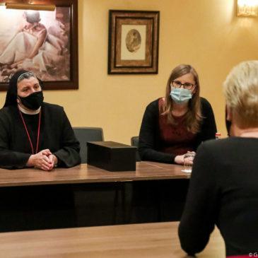 Wilno: Spotkanie Pierwszej Damy i siostry Michaeli Rak