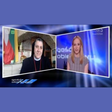 Wywiad w TVP3 o naszej misji