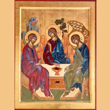 Švč. Trejybės ikona – dovana hospisui