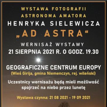 """Ad Astra"" parodos atidarymas"