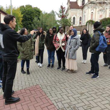 Wizyta studentów międzynarodowych w hospicjum