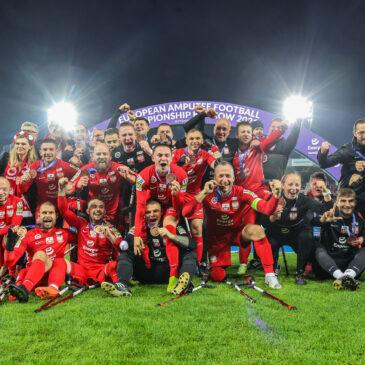 Brąz Polski w ME w Amp Futbolu