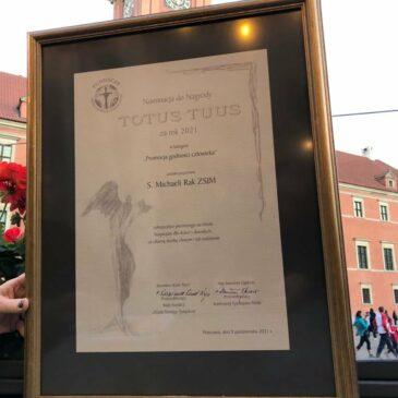 "Sesuo Michaela Rak – ""Katalikiškojo Nobelio"" nominantė!"